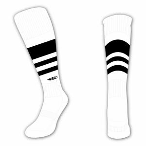 Wildcard Socks - White & Black
