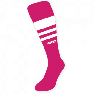 Wildcard PRO Sock - Pink & White (made to order)