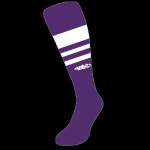 Wildcard PRO Socks – Purple & White (PRE-ORDER)