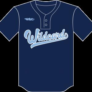 Custom Two Button Baseball or Softball Jersey