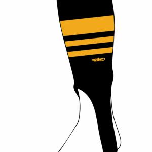 Wildcard PRO Stirrups – Black & Gold (PRE-ORDER)