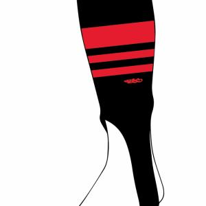 Wildcard PRO Stirrups – Black & Red (PRE-ORDER)