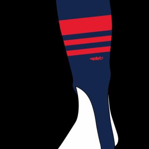 Wildcard PRO Stirrups – Navy Blue & Red (PRE-ORDER)