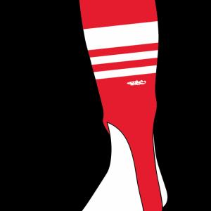 Wildcard PRO Stirrups – Red & White (PRE-ORDER)